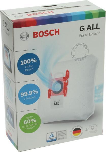 Bosch Staubsaugerbeutel G ALL VZ41AFG für Staubsauger 17000940