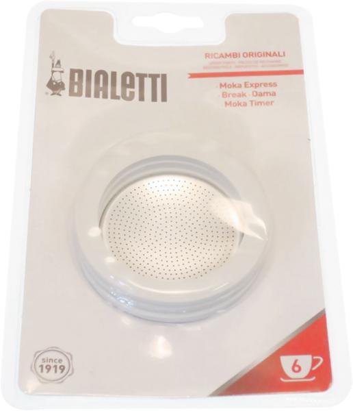 Bialetti 3 Dichtungen & 1 Filter für Espressokanne 0800004